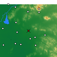 Nearby Forecast Locations - Ningyang - Map