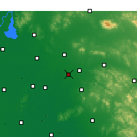 Nearby Forecast Locations - Yanzhou - Map
