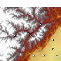 Nearby Forecast Locations - Wenchuan - Map