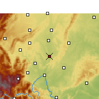 Nearby Forecast Locations - Qingshen - Map