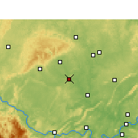 Nearby Forecast Locations - Zigong - Map