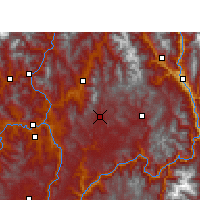 Nearby Forecast Locations - Huili - Map