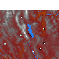 Nearby Forecast Locations - Dali - Map