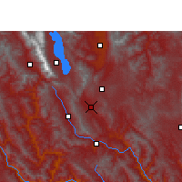 Nearby Forecast Locations - Midu - Map