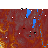 Nearby Forecast Locations - Yuxi - Map