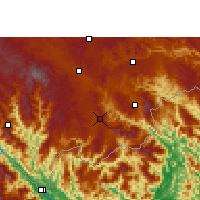 Nearby Forecast Locations - Maguan - Map