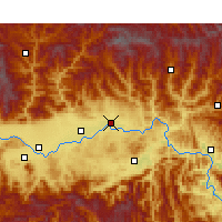 Nearby Forecast Locations - Yang Xian - Map