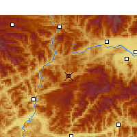Nearby Forecast Locations - Ningqiang - Map