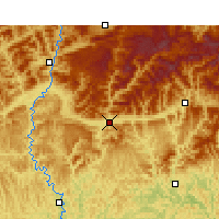 Nearby Forecast Locations - Wangcang - Map