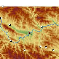 Weather Ankang China Weatheronline - Ankang map