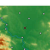 Nearby Forecast Locations - Lyanyi - Map