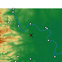 Nearby Forecast Locations - Songzi - Map