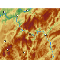 Nearby Forecast Locations - Wulong - Map