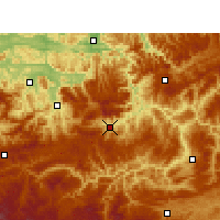 Nearby Forecast Locations - Gulin - Map