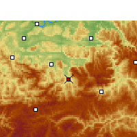 Nearby Forecast Locations - Xuyong - Map