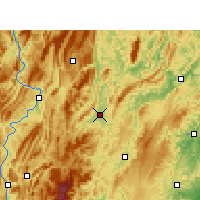 Nearby Forecast Locations - Xiushan - Map