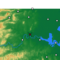 Nearby Forecast Locations - Changde - Map