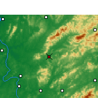 Nearby Forecast Locations - Liuyang - Map