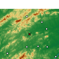 Nearby Forecast Locations - Wanzai - Map