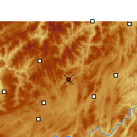 Nearby Forecast Locations - Suiyang - Map
