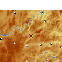 Nearby Forecast Locations - Yu  qing - Map