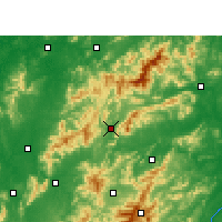Nearby Forecast Locations - Lianhua - Map