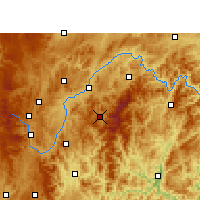 Nearby Forecast Locations - Leishan - Map