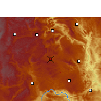 Nearby Forecast Locations - Xingren - Map