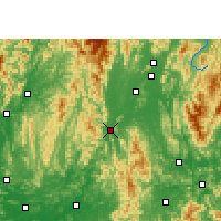 Nearby Forecast Locations - Yongfu - Map