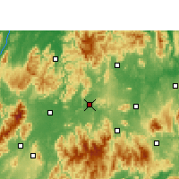 Nearby Forecast Locations - Ningyuan - Map