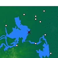 Nearby Forecast Locations - Hongze - Map