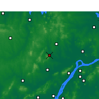 Nearby Forecast Locations - Chuzhou - Map