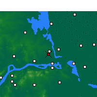 Nearby Forecast Locations - Hanjiang - Map