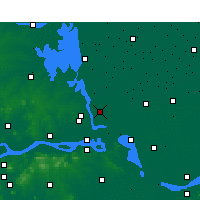 Nearby Forecast Locations - Jiangdu - Map
