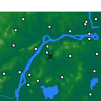 Nearby Forecast Locations - Jiangning - Map