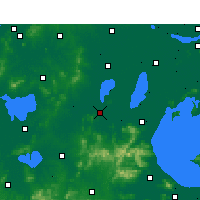 Nearby Forecast Locations - Liyang - Map