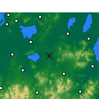 Nearby Forecast Locations - Langxi - Map