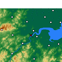 Nearby Forecast Locations - Hangzhou - Map