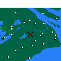 Nearby Forecast Locations - Qingpu - Map