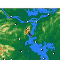 Nearby Forecast Locations - Xingzi - Map