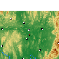 Nearby Forecast Locations - Liuzhou - Map