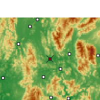 Nearby Forecast Locations - Yangshuo - Map