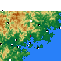 Nearby Forecast Locations - Tong'an - Map