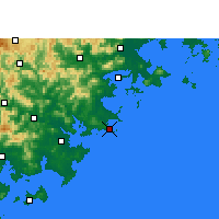 Nearby Forecast Locations - Chongwu - Map