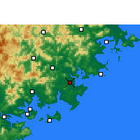 Nearby Forecast Locations - Jinjiang - Map
