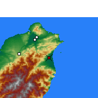 Nearby Forecast Locations - Yilan - Map
