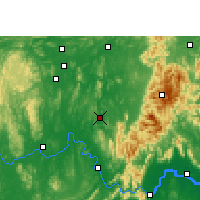 Nearby Forecast Locations - Xiangzhou - Map