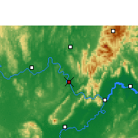Nearby Forecast Locations - Wuxuan - Map