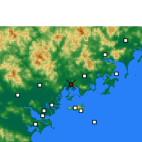 Nearby Forecast Locations - Raoping - Map