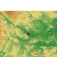 Nearby Forecast Locations - Longzhou - Map